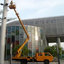 升降车出租用于路灯维修