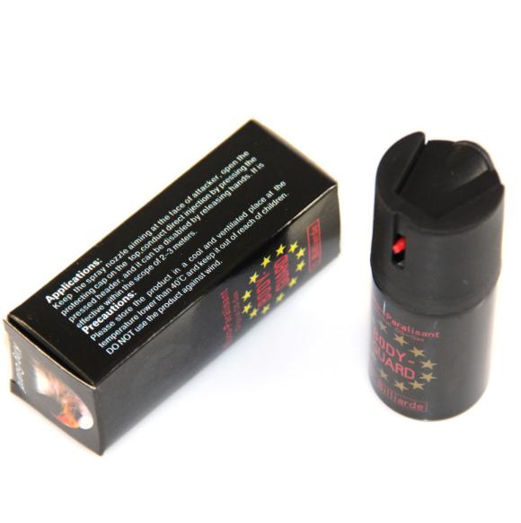 防暴催泪喷射器使用方法