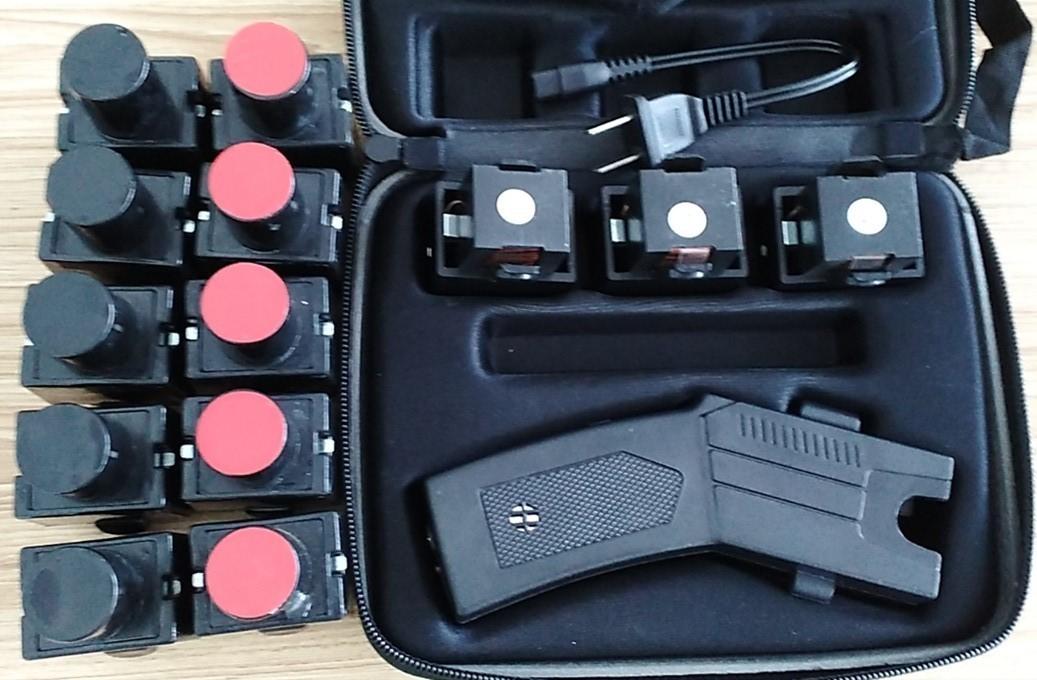 遠程002型40米橡皮彈 電擊彈40米催淚彈電擊槍