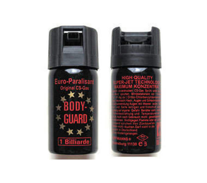 BODY-GUARD Riot-resistant pepper spray