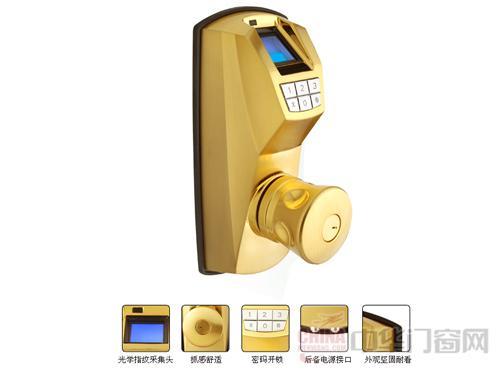 自动门指纹锁的指纹识别原理