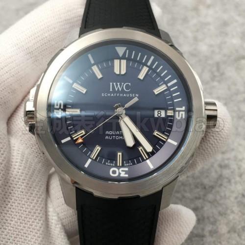 V6厂万国海洋计时三针,蓝面胶带 日本西铁城9015机芯