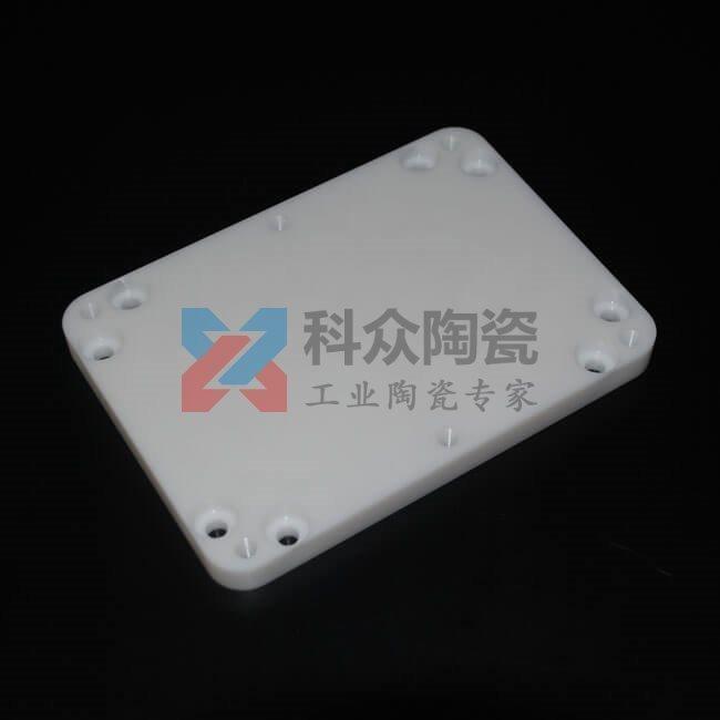 氧化锆陶瓷背板的高效精密加工