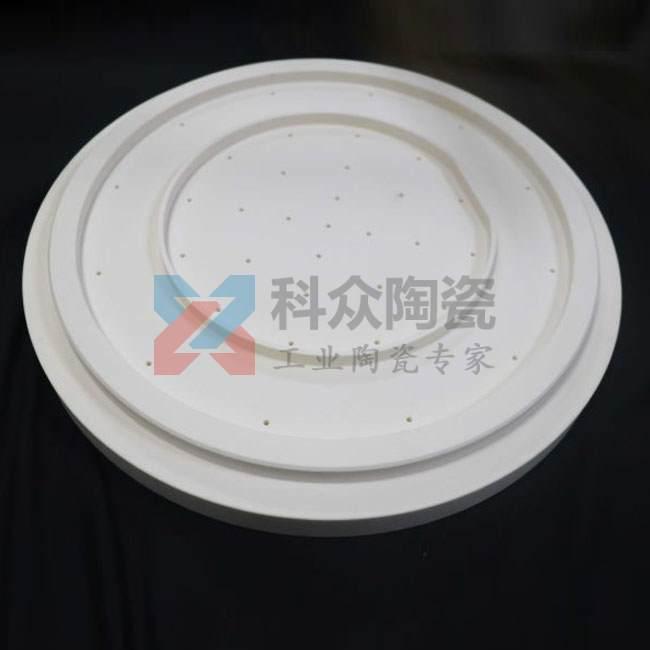 氧化铝精密陶瓷耐磨法兰盘