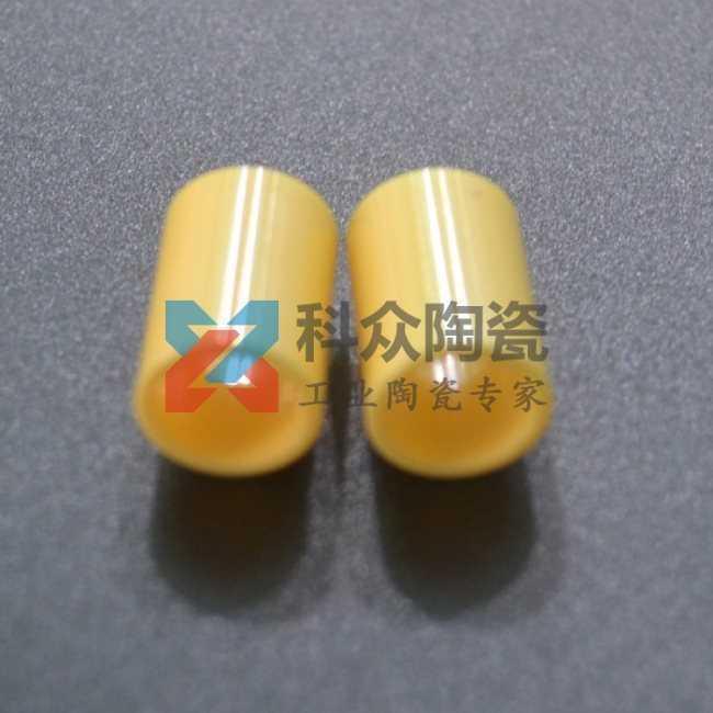 黄色氧化锆耐磨精密陶瓷管