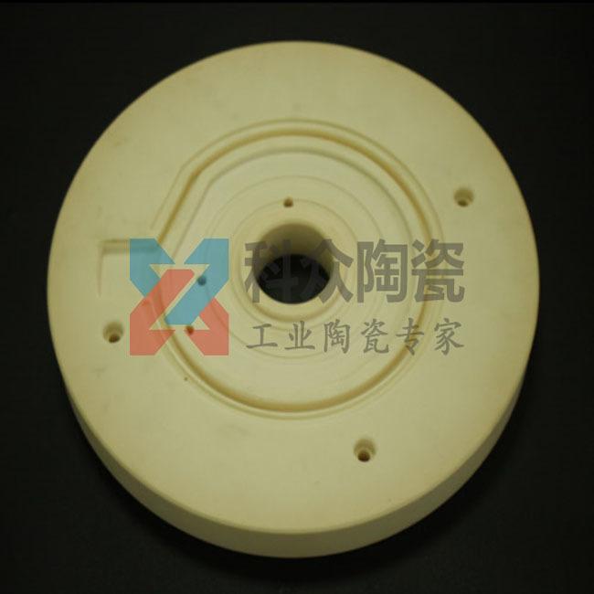 995氧化铝精密陶瓷法兰盘