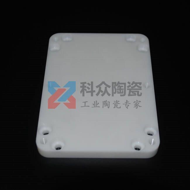 氧化锆白色精密陶瓷板打孔