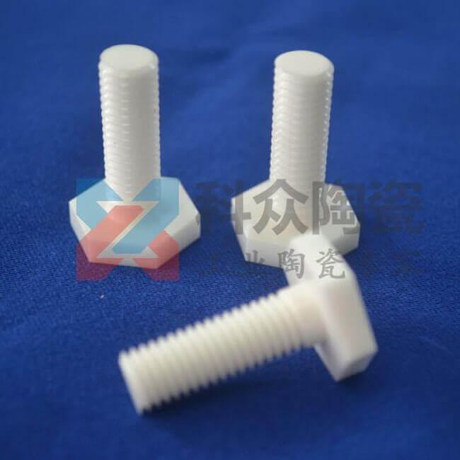 工业陶瓷能做螺纹吗?