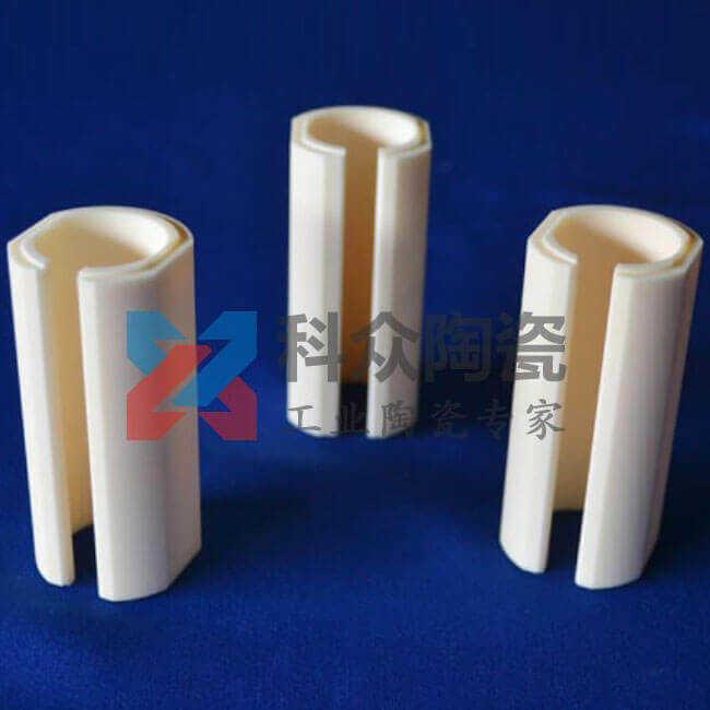 996氧化铝精密陶瓷管精加工