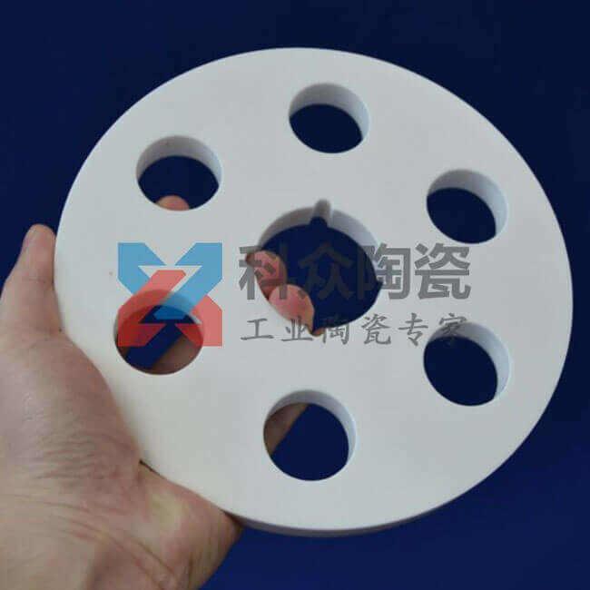 氧化铝精密陶瓷环打孔加工