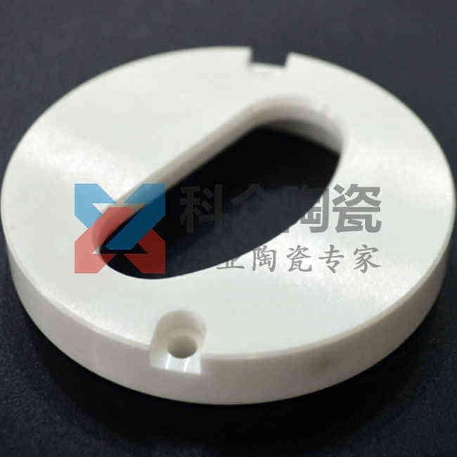 氧化锆精密陶瓷环开槽精加工