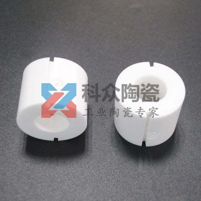 氧化锆精密陶瓷环开槽加工