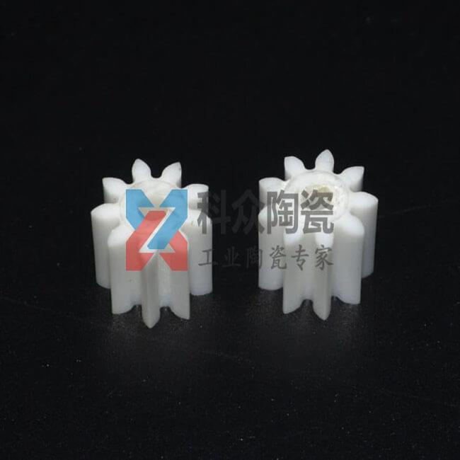 氧化锆精密陶瓷零件注塑齿轮
