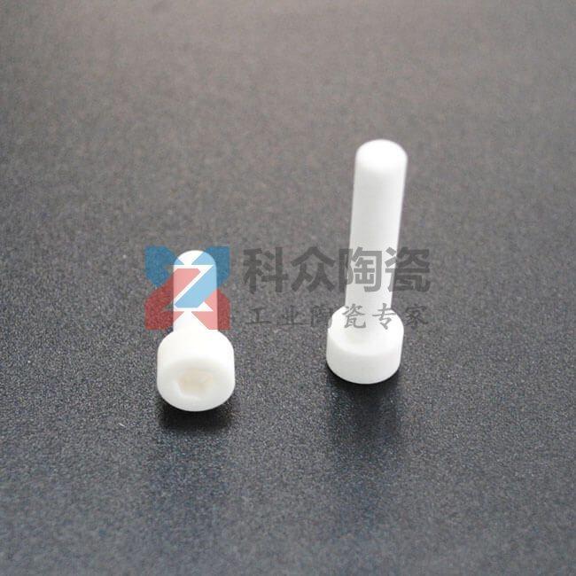 氧化铝精密陶瓷零件螺丝