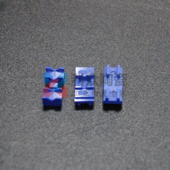 蓝色氧化锆精密陶瓷零件