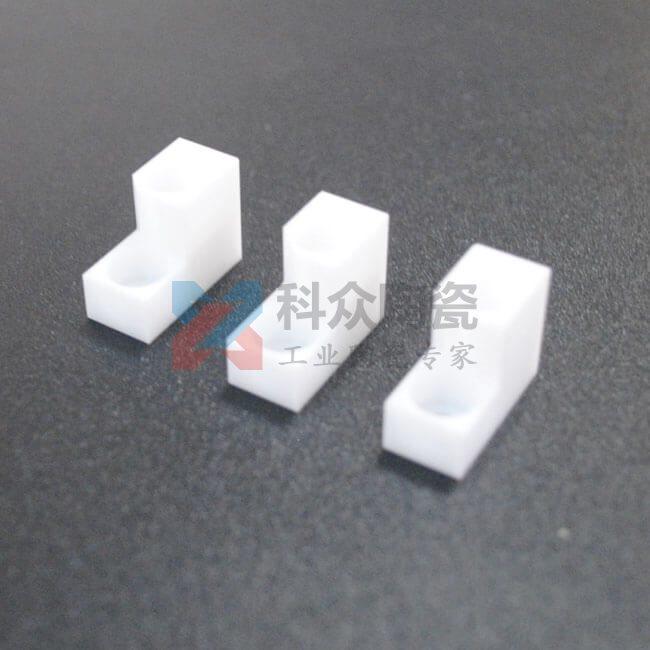 白色氧化锆精密陶瓷结构件打孔
