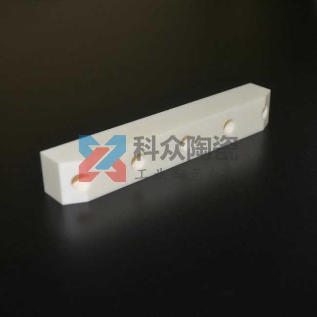 99氧化鋁精密陶瓷結構件加工