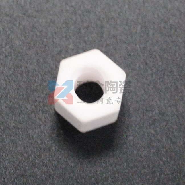 六角氧化鋁精密陶瓷螺母