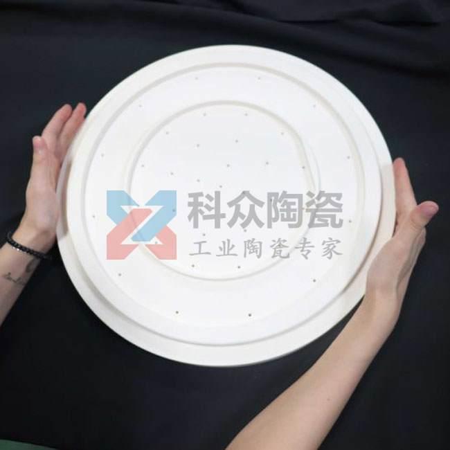 氧化鋁半導體精密陶瓷大圓盤
