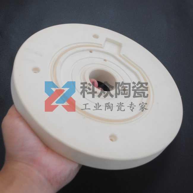 氧化鋁半導體精密陶瓷圓盤