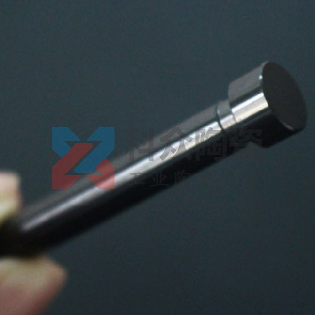 黑色氧化锆精密陶瓷台阶棒