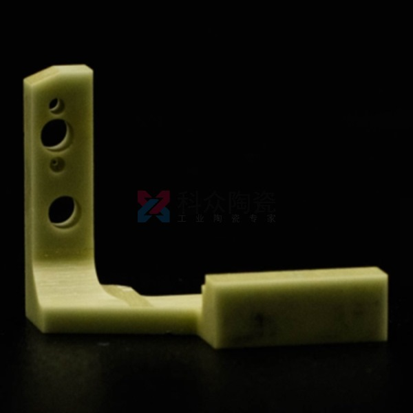 防静电陶瓷零件绿色材质