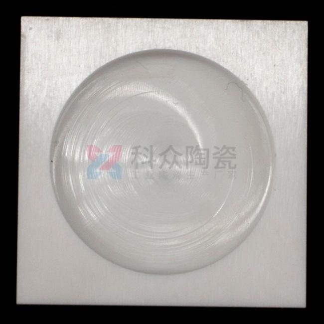 95氧化铝精密陶瓷片开槽