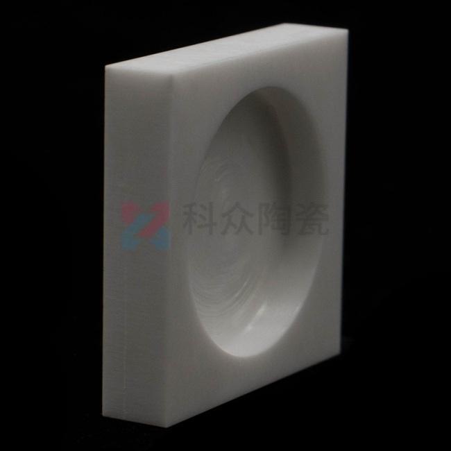 氧化锆精密陶瓷块开槽加工