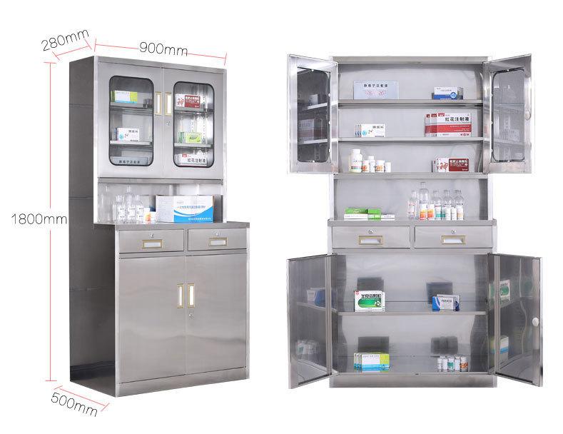 304不锈钢医药柜