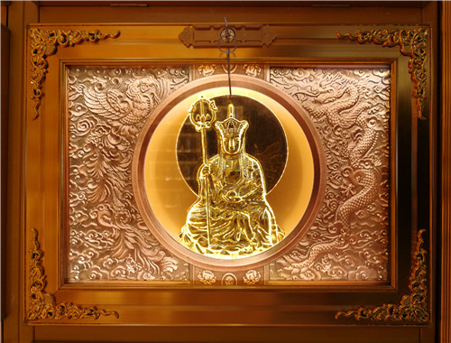 地藏王菩萨骨灰存放架
