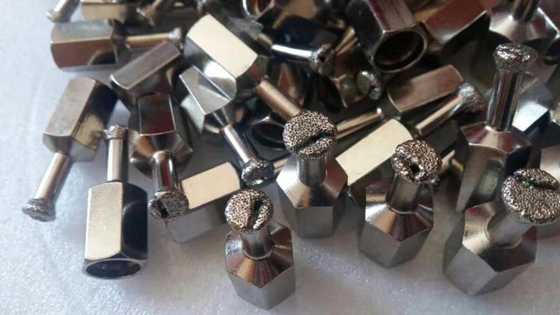 電鍍式石材背栓鉆頭1