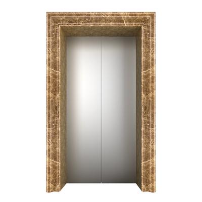 金啡电梯门套