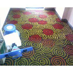 石家庄清洗地毯案例2