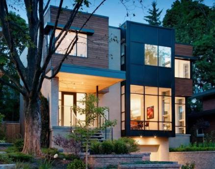 现代风格轻钢别墅