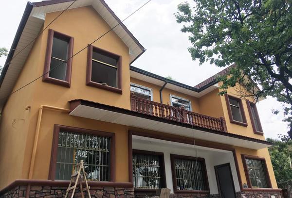 贵州遵义轻钢别墅施工案例