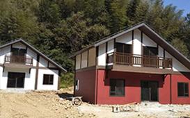 贵州赤水竹海景区轻钢房建设案例