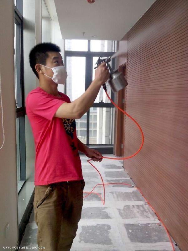 济南军区总医院空气净化甲醛施工案例