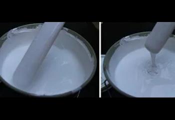 白色色浆中分散剂的使用