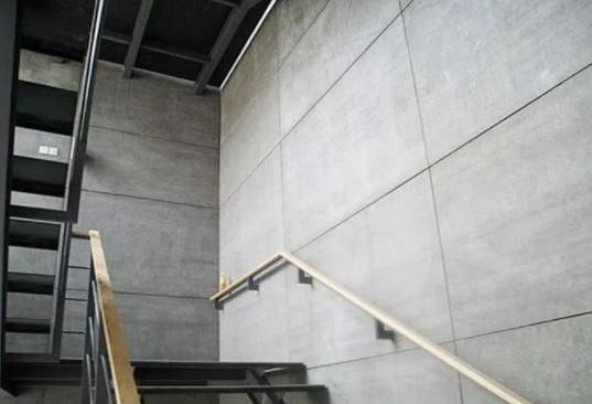 水泥挂板作为室内隔墙运用