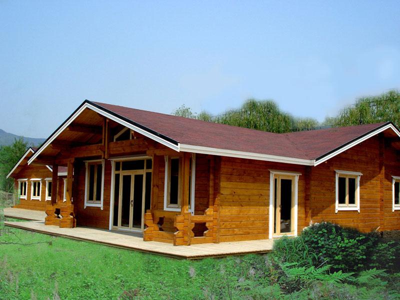 景区轻钢别墅 木屋