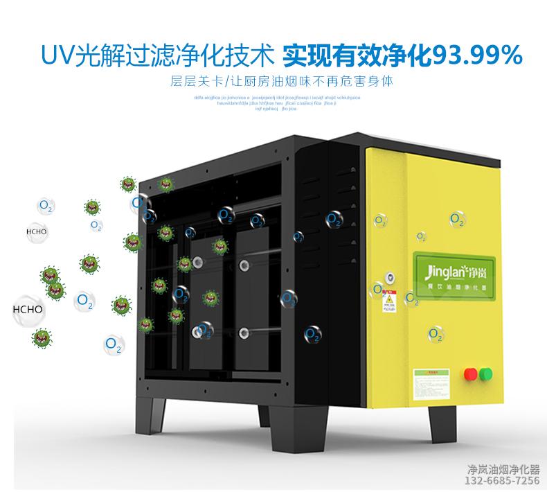 UV除味设备优点
