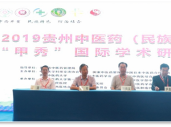 2019年贵州中医药国际学术研讨会在贵阳举行