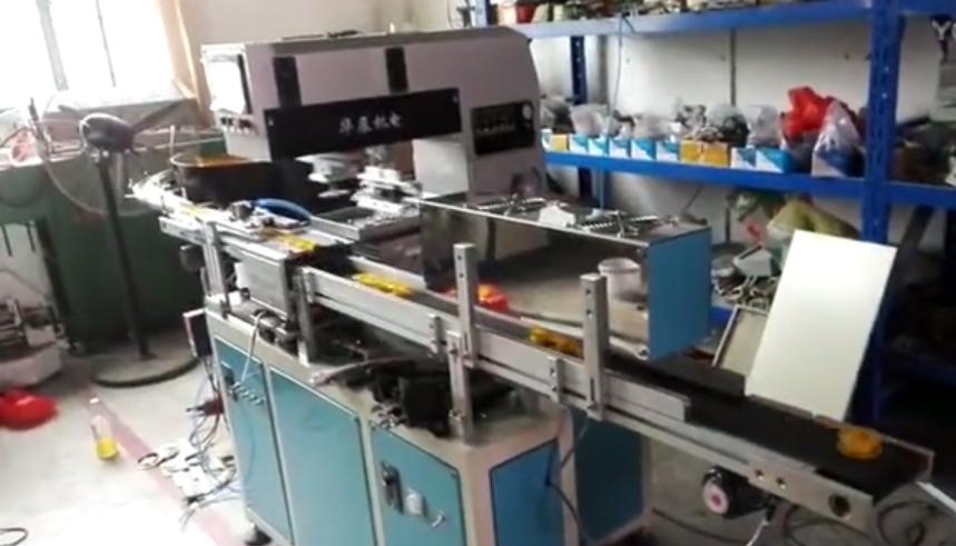 印刷机平面操作视频
