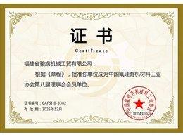 中国氟硅协会理事单位