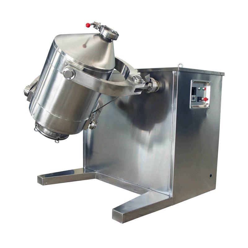 三维自动喷油混料机