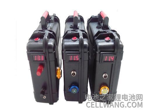 动力锂电池和储能锂电池都可以做成手提电源