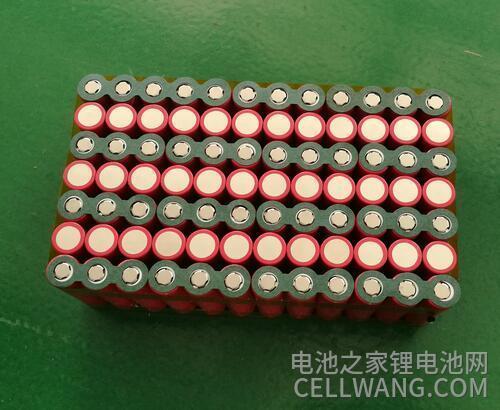 按18650锂电池使用注意事项做好的电池组