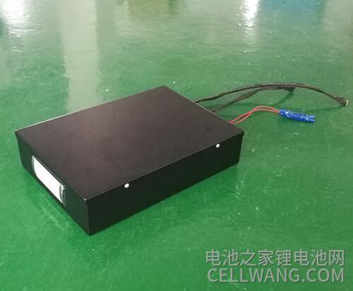 警用侦察机器人锂电池定制效果展示