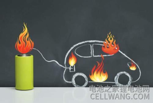 模拟锂离子电池热失效会引起更多事故