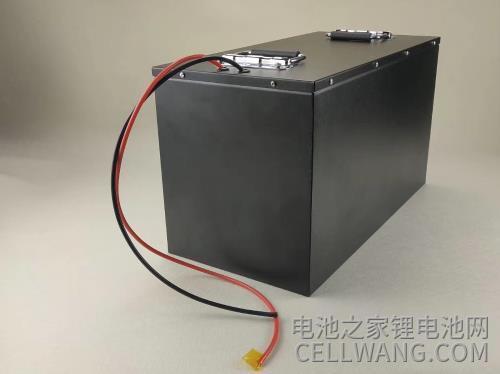 带外壳的工业级电池输出导线可接工业设备